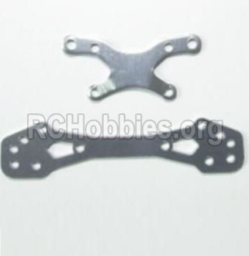 HBX 12881 VORTEX Parts-Parts-Front or Rear Aluminum alloy shockproof stent Parts-12213