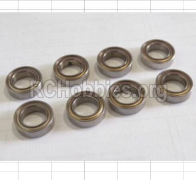 HBX 12881 VORTEX Parts-Bearing Parts-ball Bearing(8pcs)-7.95x13x3.5mm Parts-79513