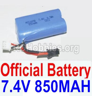 HBX 12881 VORTEX Parts-Battery Parts-Official 7.4V 850mah Battery(1pcs) Parts-12032N