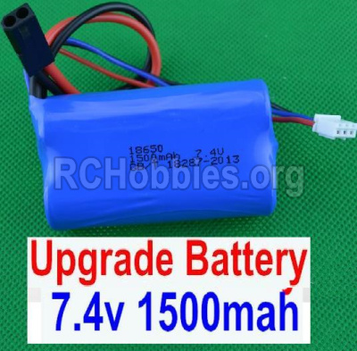 HBX 12881 VORTEX Parts-Battery Parts-Upgrade 7.4V 1500MAH Battery(1pcs) Parts-12225