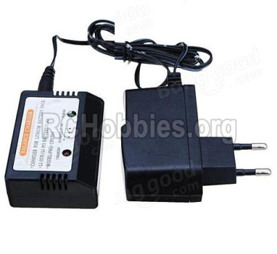 HBX 12881 VORTEX Parts-Official charger and balance charger(Can charge 1 battery at the same time) Parts
