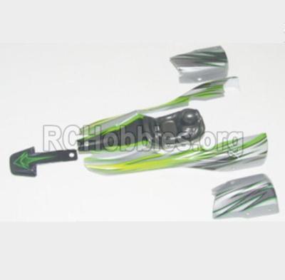 HBX 12881 VORTEX Parts-Body Shell Parts-Car canopy,Shell cover-Green Parts-12041