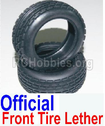 HBX 12881 VORTEX Parts-tire lether Parts-Official Front tire lether(2pcs)-Not Include the wheel hub Parts-12034