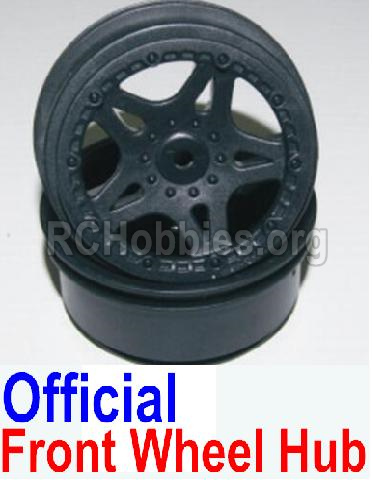 HBX 12881 VORTEX Parts-wheel hub Parts-Official Front wheel hub(2pcs)-Not Include the Tire Lether Parts-12035