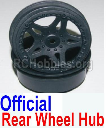 HBX 12881 VORTEX Parts-wheel hub Parts-Official Rear wheel hub(2pcs)-Not Include the Tire Lether Parts-12038