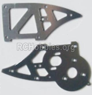 HBX 12885 Iron Hammer Parts-Aluminum Alloy Chassis Side Plates B Parts-12211