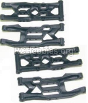 HBX 12885 Iron Hammer Parts-Front Bottom And Rear Bottom Suspension Arms,Front Bottom And Rear Bottom Swing Arm(Total 4PCS) Parts-12004
