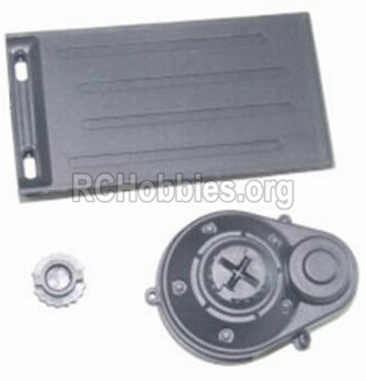 HBX 12885 Iron Hammer Parts-Battery Door & Motor Gear Cover Parts-12012