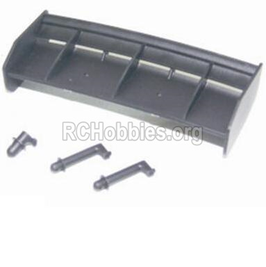 HBX 12885 Iron Hammer Parts-Tail wing & Column for the Car canopy Parts-12013