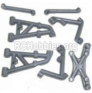 HBX 12885 Iron Hammer Parts-shockproof stent Parts-12016