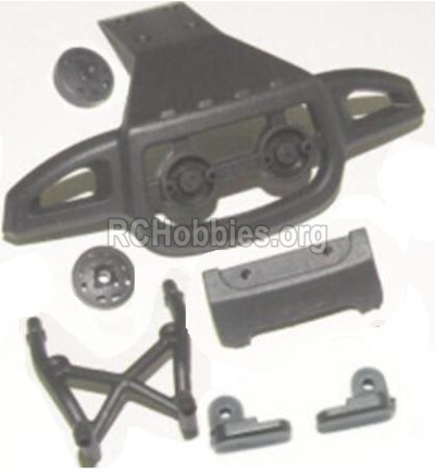 HBX 12885 Iron Hammer Parts-Front or Rear Anti-collision frame Parts-12053