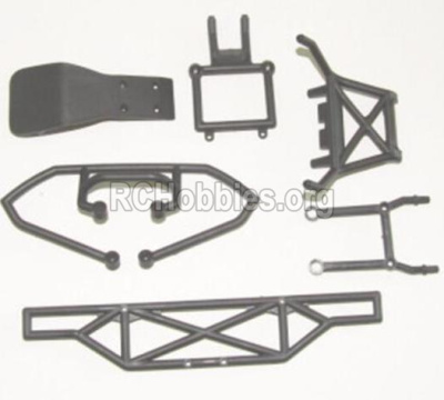 HBX 12885 Iron Hammer Parts-Anti-collision frame Assembly Parts-12061