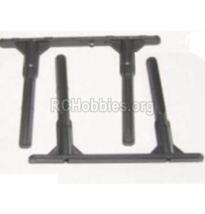 HBX 12885 Iron Hammer Parts-Side Plate Holders(Short course truck) Parts-12062