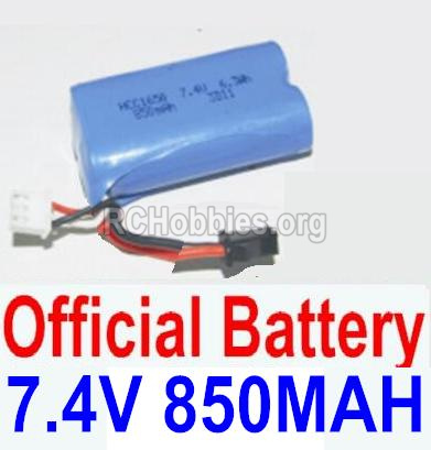 HBX 12885 Iron Hammer Parts-Battery 7.4V 850mah Battery(1pcs) Parts-12032N