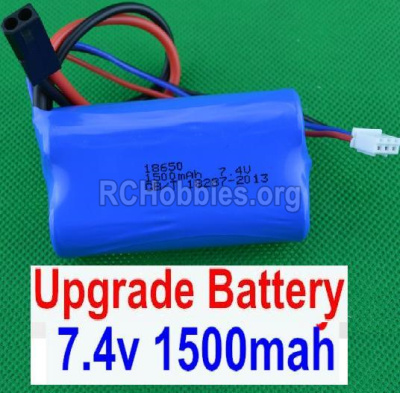 HBX 12885 Iron Hammer Parts-Upgrade 7.4V 1500MAH Battery(1pcs) Parts-12225