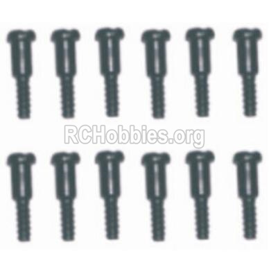 HBX 12885 Iron Hammer Parts-Step Screws(12pcs)-3.5X4.5-3X4.6mm Parts-S152