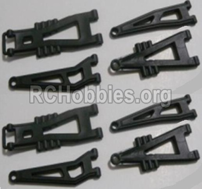 HBX 12891 Parts-Front And Rear Suspension Arms,Front And Rear Swing Arm(Total 8PCS) Parts-12603