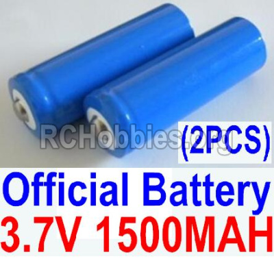 HBX 12891 Parts-Official 3.7V 1500mAH Battery(Li-ion Batteries)-2pcs Parts-12633