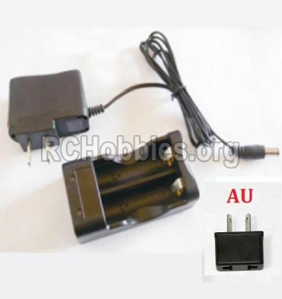 HBX 12891 Dune Thunder Parts-Charge Box and Charger(Australia Standard Socket) Parts-12643