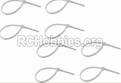 HBX 12891 Dune Thunder Parts-Zip Ties-Small(8pcs) Parts-P011