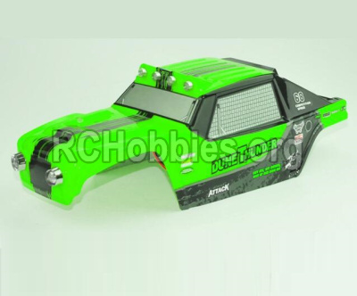 HBX 12891 Dune Thunder Parts-Body shell cover-Desert Truck Shell,Car shell-Green Parts-891-B002