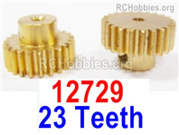 HaiBoXing HBX 12895 Parts-Motor pinions with Set Screws. Motor gears. Total 2pcs. 12729