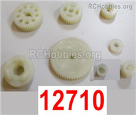 HaiBoXing HBX 12895 Replace Accessories-Central Gears Assembly. 12710