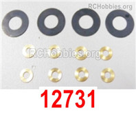 HaiBoXing HBX 12895 Parts-shims complete .Gasket kit. 12731