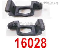 HaiBoXing HBX 12895 Parts-Front Hub Carriers, Front C-Shape Seat for the Left and Right,Total 2pcs. 16028