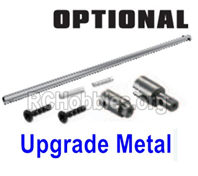 HBX 16889 Upgade Metal Heavy Duty Center Drive Shaft+Outdrive Cups+Pins+Screws (suited for metal spur gear version)-M16101