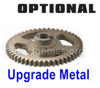 HBX 16889 Upgrade Metal Big Gear Parts,Upgrade Machined Metal Spur Gear-M16102,HaiBoXing HBX 16889A Upgrade Parts