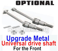 HBX 16889 Upgrade Front Metal Front CAD Shafts Parts+ Pins+Lock Nut M4-M16105-For the Front,HaiBoXing HBX 16889A Upgrade Parts