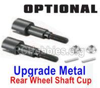 SG 1602 Upgrade Metal Rear Wheel Shafts+Pins+Lock Nut M4-M16107