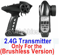 SG 1601 Transmitter,2.4Ghz Radio (Only for Brushless Car)-12670-2.4G