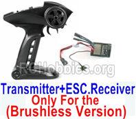 SG 1602 Transmitter,2.4Ghz Radio+ ESC Receiver board (Only for Brushless Car)-12670
