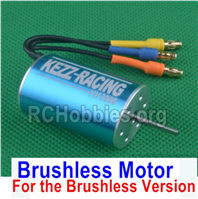 SG 1601 Brushless Motor-For the Brushless Version-M16111