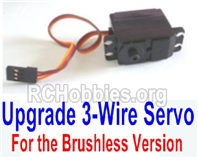 HBX 16889 Servo (3-wire plug, for brushless Version)-M16109