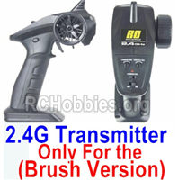 HBX 16889 Transmitter,2.4Ghz Radio (Only for Brushed Car)