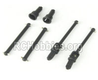 HBX 16889 Drive Shafts-(Front and Rear)-M16015