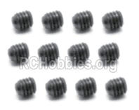 SG 1601 Set Screw 2.5x2.5mm-S103,Total 12pcs