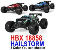 HBX HAILSTORM RC Truck,HBX 18858 RC Car 1/18 Haiboxing HBX 18858 HAILSTORM Electric 4WD Off-Road Truck