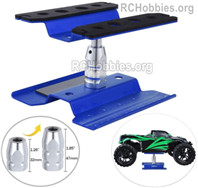 HBX Rampage 18859E Repair platform maintenance platform Parts for RC Car, Oil truck starting platform shunting platform, For 1/10 1/8 1/18 RC Truck.
