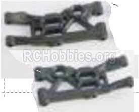 HBX Rampage Front Lower Supension Arms Parts, Front lower Swing Arms(2pcs). 18103
