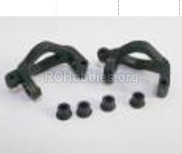 HBX Rampage 18859E Front Hub Carriers Parts. It include Left and Right. C shape seat(2pcs). 18105