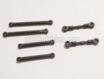 HBX Rampage 18859E Front and Rear Upper Link rod Parts+ Steering Link rod. 18011