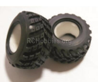 HBX Rampage Tire lether Parts.(Not include the Wheel hub)-2pcs. 18020