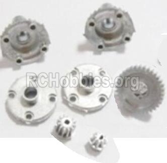 HBX 2118 Parts-Metal Diff. Gears & MetalDrive Pinion Gears Parts-25005R