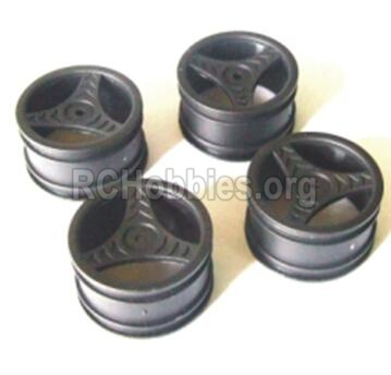 HBX 2118 Parts-Wheel Hub(4pcs) Parts-Not include the tire lether Parts-24023