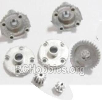 HBX 2128 Wildrider Parts-Metal Diff. Gears & MetalDrive Pinion Gears Parts-25005R