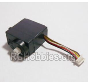 HBX 2128 Wildrider Parts-5-Wire Steering Servo (9g) Parts-25011